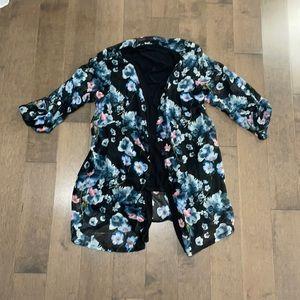 Italian floral blouse